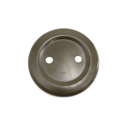Two stud spare wheel cover disc