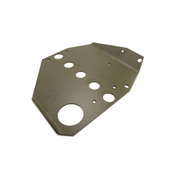 Early Willys MB 2 Piece style skid plate