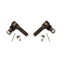Pair Of Ford GPW F marked Track Rod Ends Left And Right Hand Threads