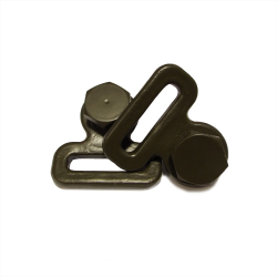 Willys MB Safety Strap Buckle & Anchor Bolt (F Stamped)(1 Pair)