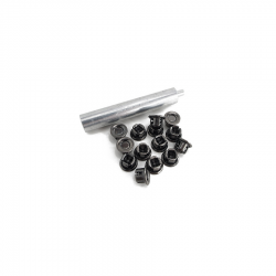 Ford GPW Willys MB Curtain fastener set with tool