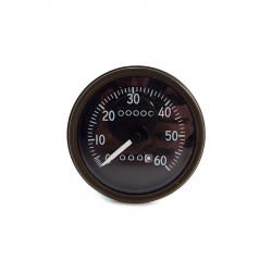 Willys MB Late/Short Speedometer