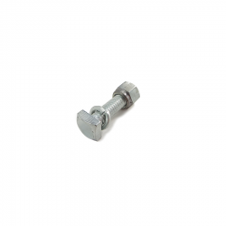 Battery terminal bolt and nut