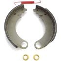 Willys MA MB Brake Shoe Set C/W Spring & Adjustment Cam
