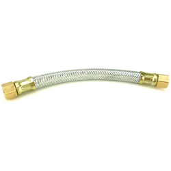 Joe's Motor Pool Flexible Fuel Line for Ford GPW, Willys MB Slat & MB (with filter on firewall)