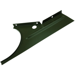 Willys MB Slat Grill Air Deflector Driver Side