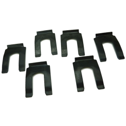 Willys MB Brake Hose Retaining Clips (as original) (set of 6)