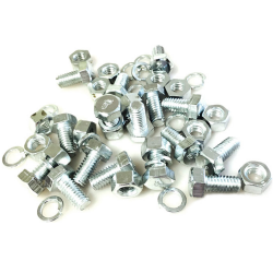 Ford GPW (F Marked) Body Handle Bolt, Nut & Washer (set of 16)