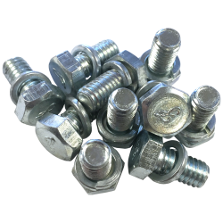 Joe's Motor Pool F Marked 5/8 Axle Cover Bolt Kit for Ford GP & GPW (set of 10)