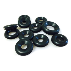 Joe's Motor Pool Firewall Rubber Body & Engine Grommet set for Ford GPW, Willys MB Slat & MB
