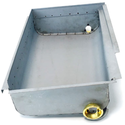 Joe's Motor Pool Composite Fuel sump Ford GPW &Willys MB