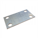 Joe's Motor Pool Inner Pintle Reinforcement Plate for Ford GPW, Willys MB Slat & MB