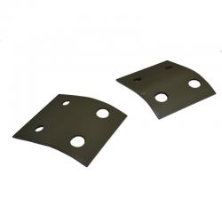 Joe's Motor Pool Bonnet Catch Reinforcement Plate set Frod GPW & Willys MB