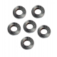 Joe's Motor Pool Pulley Cover Spacer Washer set for Ford GPW, Willys MB Slat & MB (set of 6)