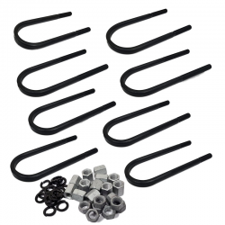 Ford GPW Axle Suspension 'U' Bolts,Vehicle Set