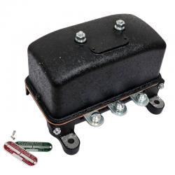 Joe's Motor Pool 6v & 12v Voltage Regulator for Ford GPW, Willys MB Slat & MB