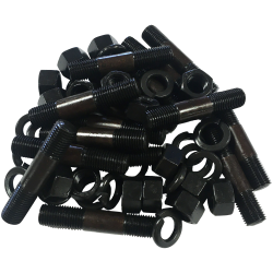 Steering Knuckle Stud Washer And Nut Set
