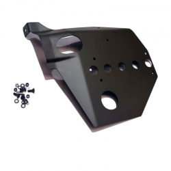 Joe's Motor Pool Willys MB Early Type Skid Plate for External Contracting Handbrake