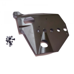 Joe's Motor Pool Willys MB Skid Plate for External Contracting Handbrake