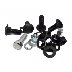 Joe's Motor Pool F Marked Skid Plate Bolt Set for Ford GPW