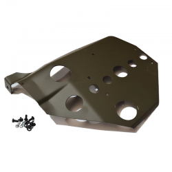 Joe's Motor Pool F Marked Skid Plate For Ford GPW Models